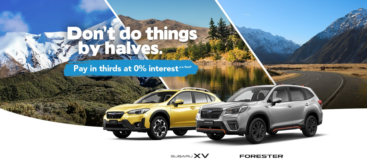 Subaru XV and Forester X-Sport Special Offer